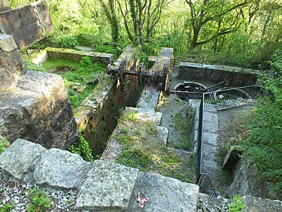 The Wheel Pit at Luxulyan Valley