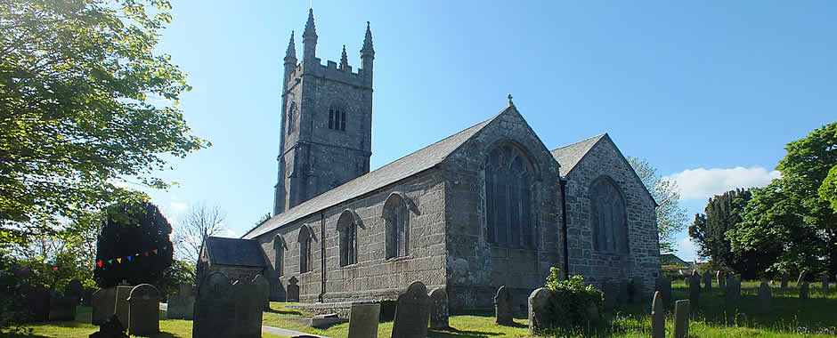 St Brevita Church, Lanlivery